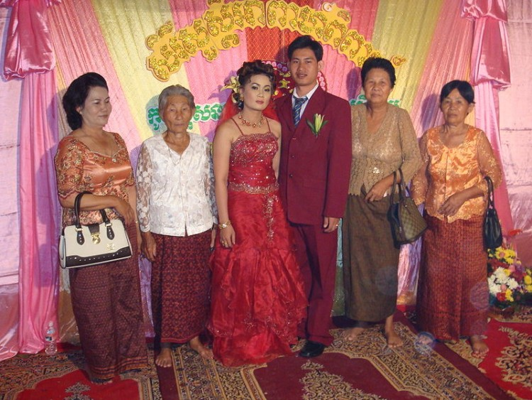 Khmer wedding by Emsannang